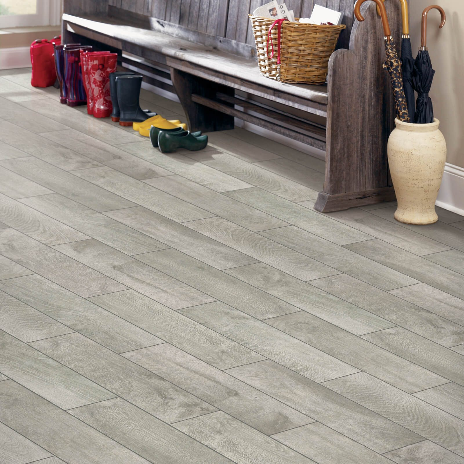 Madison Creek Light Charcoal Tile | Leicester Flooring