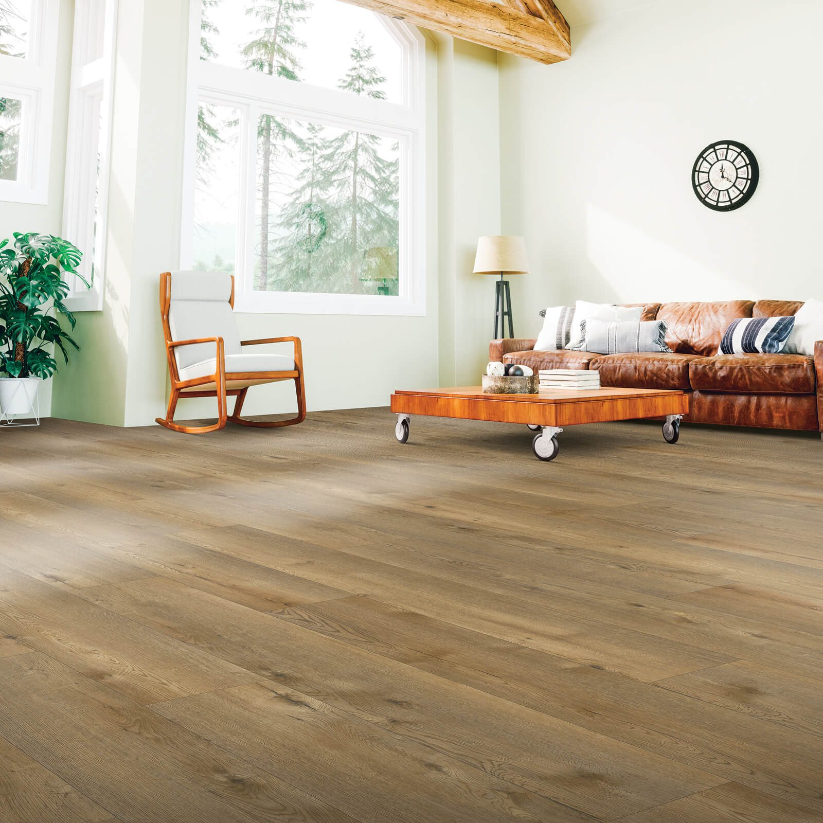 Laminate Flooring Installed in Living Room | Leicester Flooring